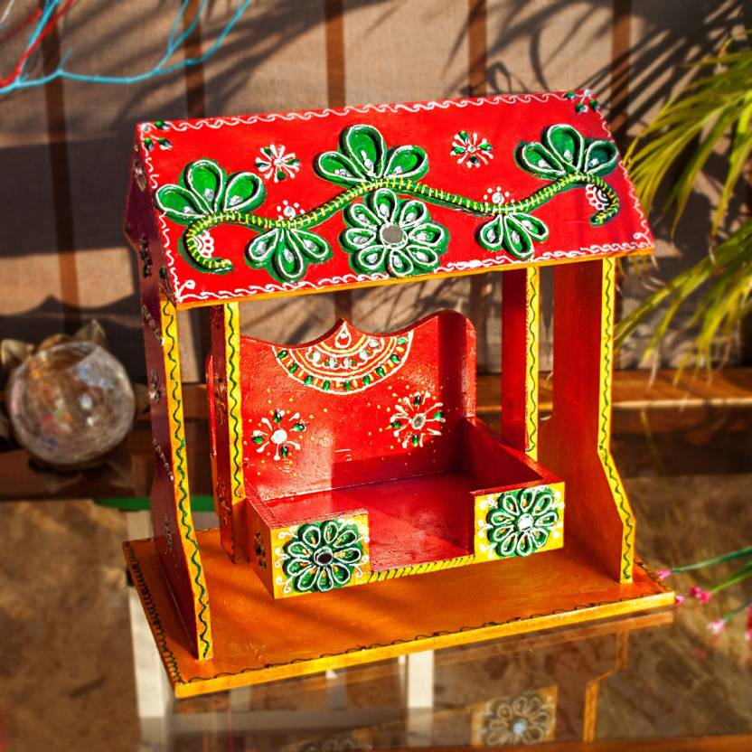 Krishna Jhula Color With Green Red Ritwikas Com